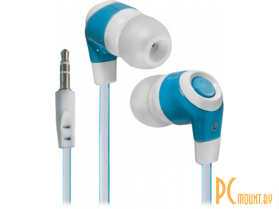 headphone defender trendy-702 white-blue 63702