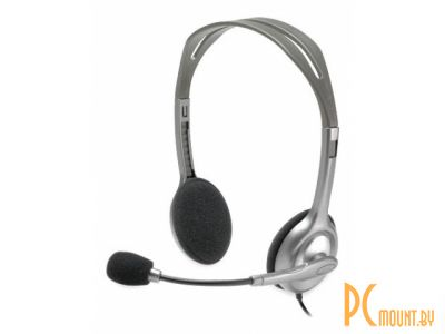 headphone logitech h110 stereo headset