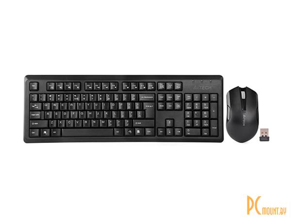 фото Клавиатура A4Tech V-Track 4200N Wireless Desktop, черный