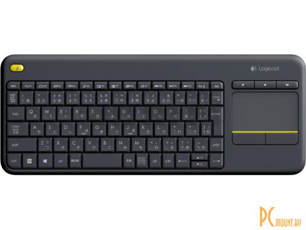 kbd logitech k400-plus wireless black 920-007147