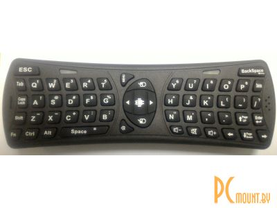 kbd noname wireless air mouse-keyboard black