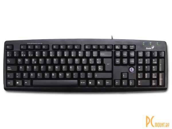 фото Genius KB-06XE Проводная клавиатура, доп. клавиши Sleep , Black, PS/2                    !!! ХИТ продаж