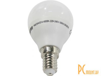 light lamp led smartbuy sbl-p45-05-40k-e14