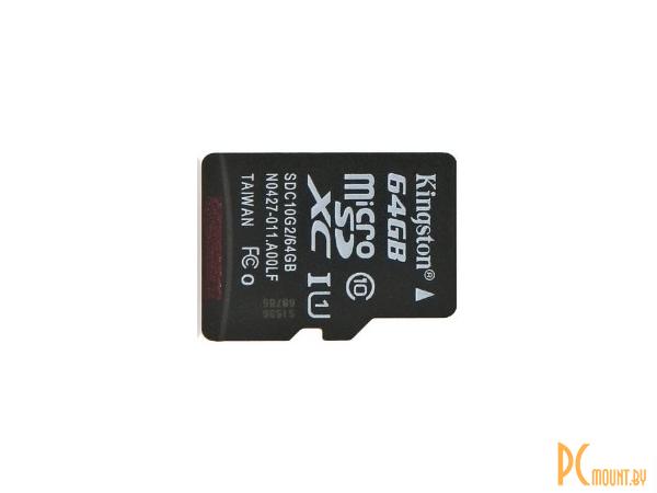 flash microsdxc 64g class10 uhs-1 kingston sdc10g2-64gb