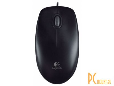 фото Мышь Logitech-OEM B100 Optical USB Mouse Black (910-003357)