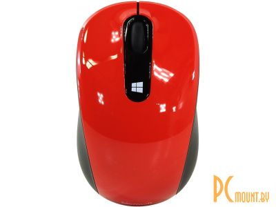 Мышь Microsoft Sculpt Mobile Mouse Win7/8 Flame Red (43U-00026)