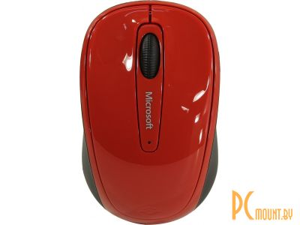 Мышь Microsoft Wireless Mobile Mouse 3500 Red Gloss  (GMF-00293)