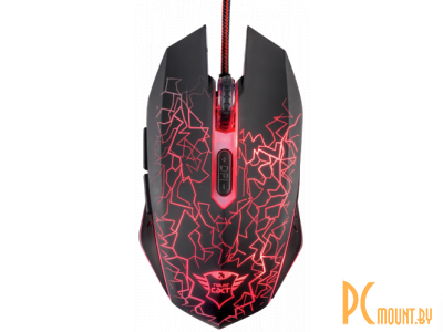 ms trust gxt 105 izza illuminated gaming mouse 21683