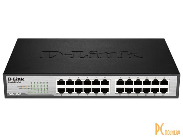 lan hub d-link dgs-1024c