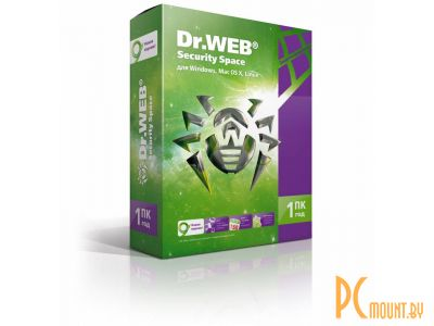 soft dr web security space 1desktop 1year box