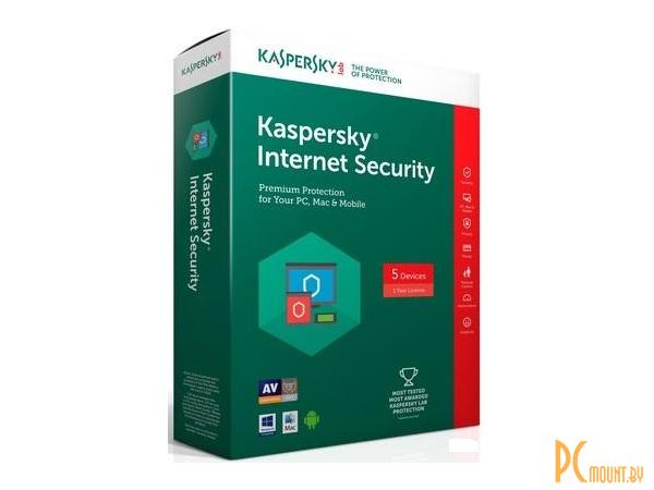 Kaspersky Internet Security Multi-Device. 3-Device 1 year Base Retail Pack (KL19412UCFS)