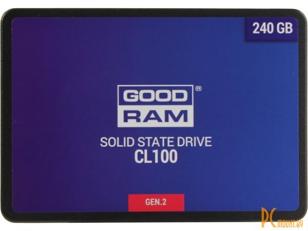 фото SSD 240GB GoodRam SSDPR-CL100-240-G2 2.5'' SATA-III