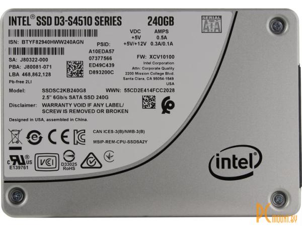 ssd intel 240 ssdsc2kb240g801 server