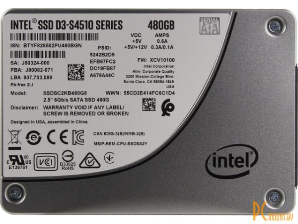 ssd intel 480 ssdsc2kb480g801 server
