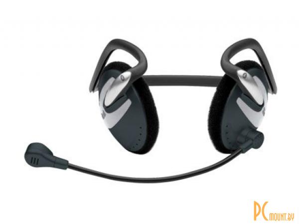 фото Trust HS-2200 Вид устройства: Наушники с микрофоном, Конструкция наушников: Накладные, Звуковое оформление: Закрытые, Регулятор громкости, Штекер: 3.5