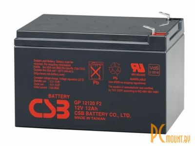 ups battery csb gp12120 f2 12v 12ah