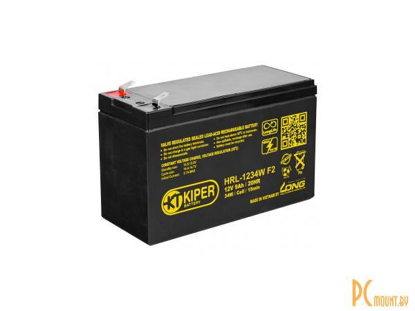 ups battery kiper hrl-1234w-f2 12v 9ah