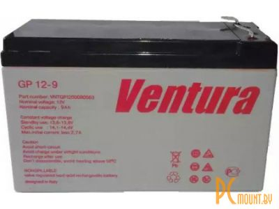 ups battery ventura gpl12-9 12v 9ah