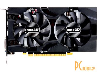 Видеокарта Inno3D GTX 1050 Ti Twin X2 4GB (N105T-3DDV-M5CM) PCI-E GeForce