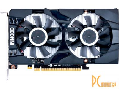 Видеокарта Inno3D GTX 1650 TWIN X2 OC 4GB (N16502-04D5X-1510VA25) PCI-E GeForce