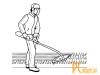 Аксессуары для садовой техники: леска для триммера Champion  Tri-twist 3mm x 12m C7048