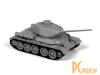 Сборные модели: Zvezda Советский средний танк Т-34/85  5039