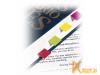 Стикеры: Kores Strips 20x50mm 200 листов 4 цвета  81594