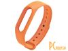 Аксессуары для умных браслетов: ремешок Red Line for Xiaomi Mi Band 4 / Mi Band 3 Silicone Orange УТ000015999