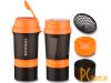 Шейкеры: Indigo Kivach IN015 400ml Black-Orange 00027136
