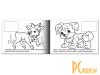 Раскрашивание и рисование: книжка-раскраска Hatber Домашние животные  R133187