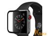 Аксессуары для APPLE Watch: защитное стекло Krutoff 3D Full Cover для Apple Watch 1/2/3 42mm 2764 02764