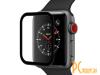 Аксессуары для APPLE Watch: защитное стекло Krutoff 3D Full Glue для Apple Watch 1/2/3 38mm 2767 02767