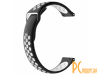 Аксессуары для смарт-часов: ремешок перфорированный Apres для Xiaomi Amazfit Bip Strap Black