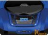магнитолы: Hyundai  Black-Blue H-PCD340