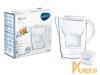 Фильтры для воды: Brita Marella MX+ White 1026443