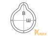 Все для ингаляторов: маска Free-breath с клапаном №3  KRT-F-L