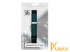 Аксессуары для смарт-часов: ремешок DF для Amazfit GTR 1.39 47mm/Huawei Watch GT2 46mm  xiSportband-03 Black-Blue