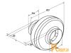 Канальные вентиляторы: Shuft  CFk 125 VIM