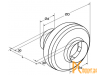 Канальные вентиляторы: Shuft  CFk 200 VIM