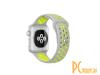 Аксессуары для APPLE Watch: ремешок Eva Nike для APPLE Watch 42/44mm Grey-Yellow  AWA012WY