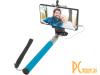 Штатив (монопод) для селфи Defender Selfie Master SM-02 голубой, проводной, 20-98 см (29404)