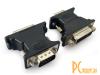 Переходник VGA-DVI Gembird A-VGAM-DVIF-01