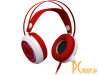 Наушники Redragon Sapphire, Белый + красный (64206)