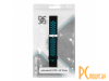 Аксессуары для смарт-часов: ремешок DF для Amazfit GTR 1.39 47mm/Huawei Watch GT2 46mm xiSportband-03 Black-Blue xiSportband-03 Black-Blue