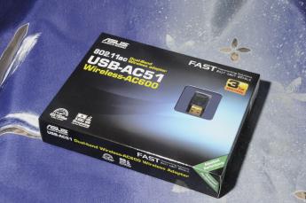 Wi-Fi адаптеры: ASUS USB-AC51