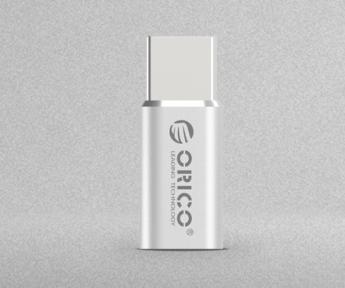 USB A/B/Micro/Mini/Type-C: Orico CTM1 Micro to Type-C USB2.0 Adapter Silver Orico CTM1-SV