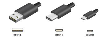 USB A/B/Micro/Mini/Type-C: 5bites USB 3.0 AM-CM 0.5m  TC302-05