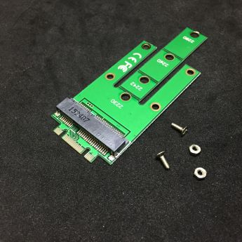 PCI-E (Riser) / SATA / eSATA / IDE / MOLEX: переходник Espada SSD M.2 NGFF to mSATA NmS 41456 NGFF\41456