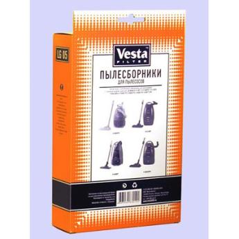 Аксессуары для пылесосов: комплект пылесборников  Vesta Filter LG 05