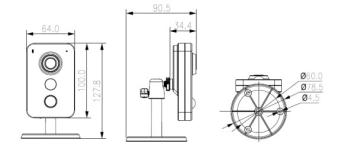 IP камеры: Bolid VCI-412 2.8mm 00-00002711